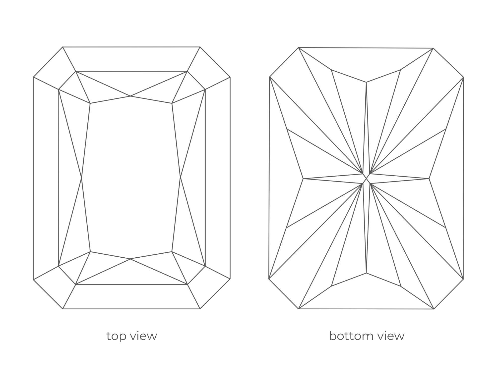 Radiant Cut Diamond Facets   Diamond Buzz