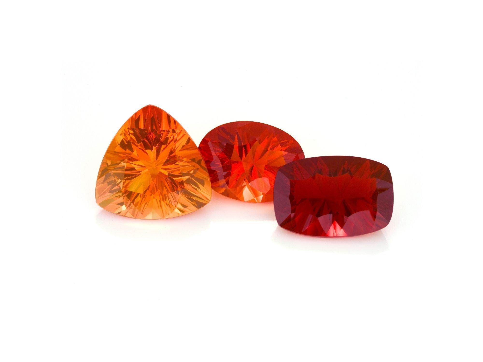 Fire Opal Cut And Shape | Diamond Buzz