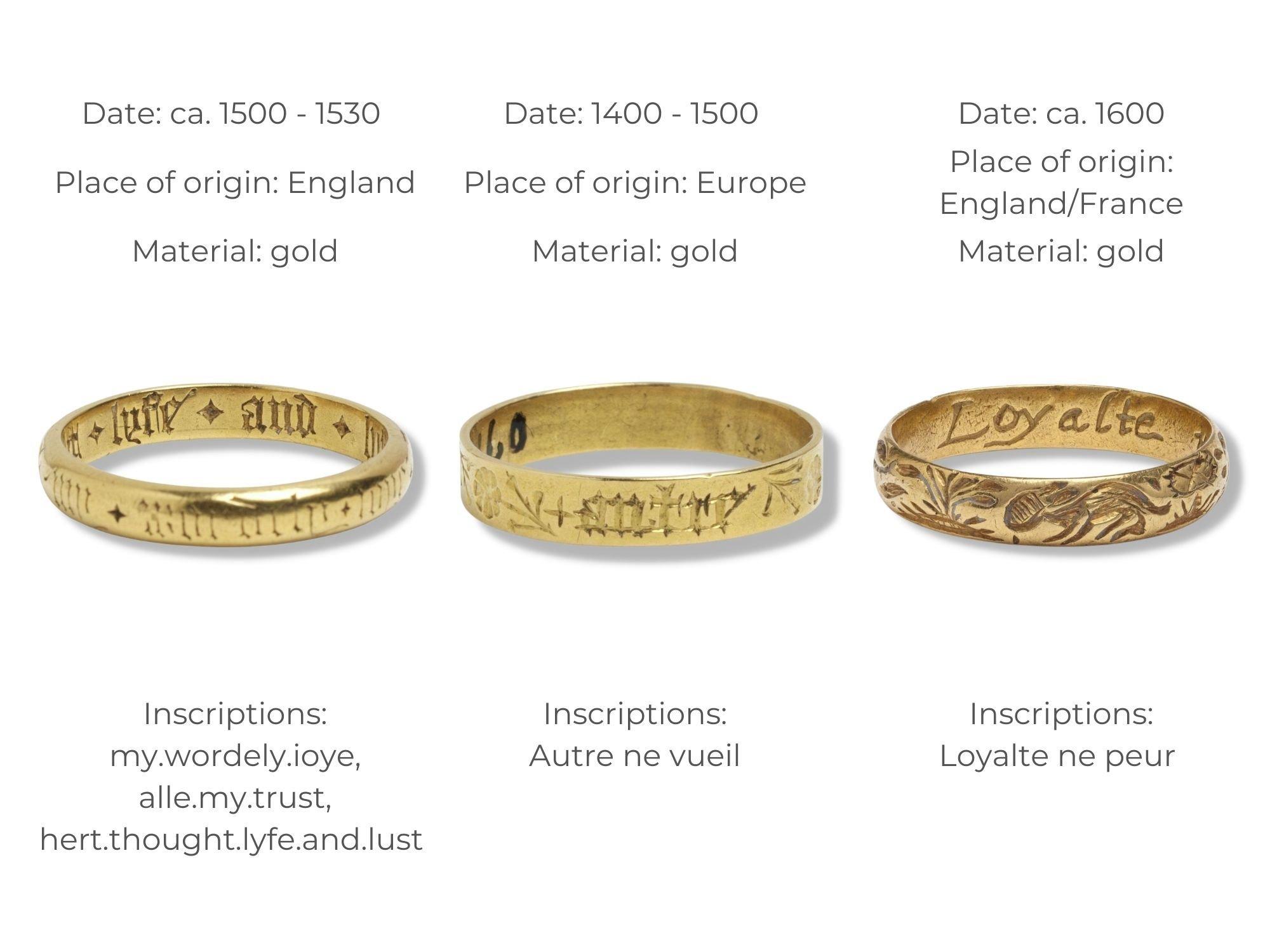 The History Of Posy Rings   Diamond Buzz